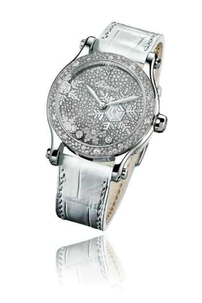 Happy Snowflakes watch by Chopard.