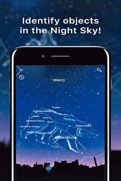 NightSky makes your iOS device a portal to the cosmic world.
