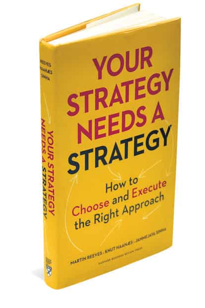 Your Strategy Needs a Strategy: By Martin Reeves, Knut Haanaes and Janmejaya Sinha 272 pages, Rs1,099