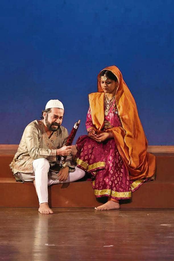 Scene from 'Aurangzeb'.