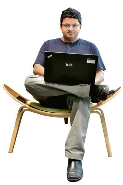 Roshan of SAP says WFH ensures work-life balance for employees. Photo: Jithendra M/Mint