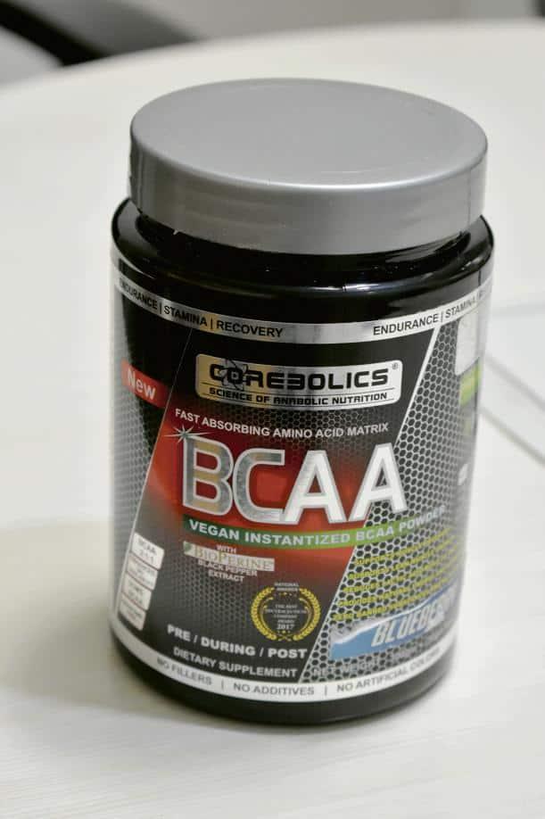 Umang Bedi's protein shake powder