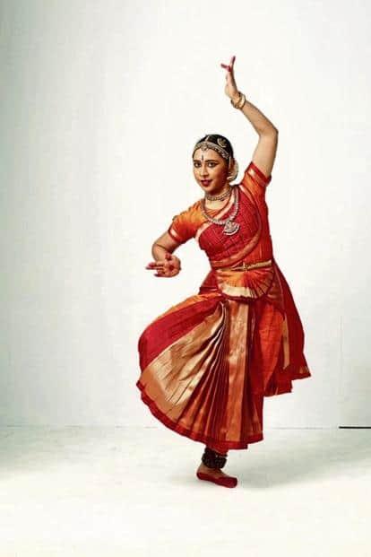 Aparna Chitharanjan as a classical dancer.