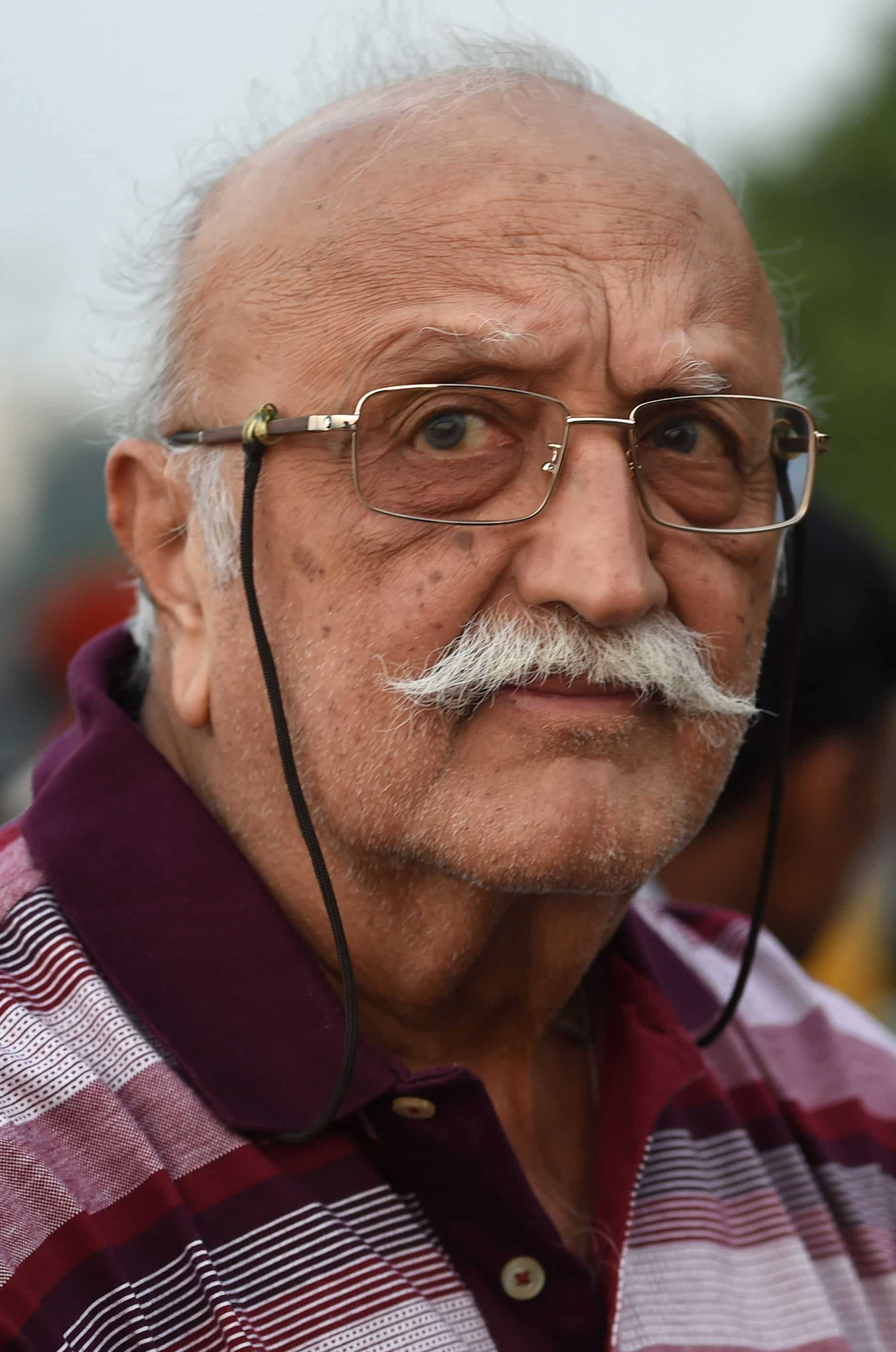 Business tycoon and chairman emeritus of the Raymond Group Vijaypath Singhania. Photo: AFP