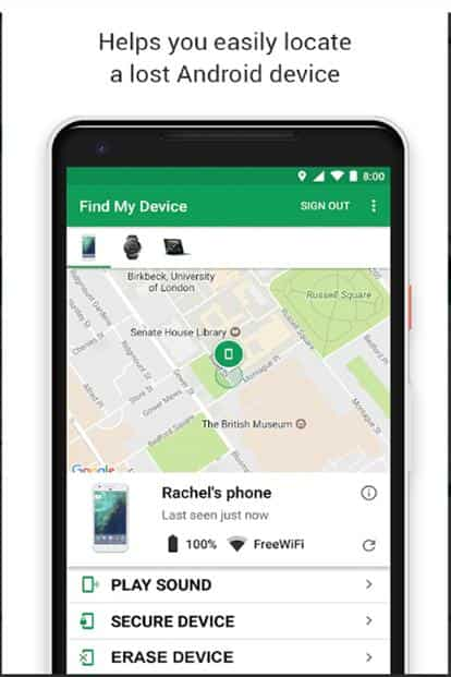 How to find that lost phone