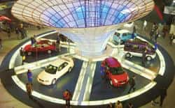 A January 2006 Picture Of The 8th New Delhi Auto Expo Orders Worth Rs538 Crore