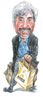 In his jeans: Denim and health food are Mehta's pet obsessions