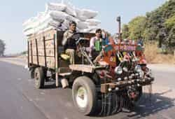 Villagers use the jugaad to ferry goods such as fertilizers, and cane from nearby fields to local sugar factories