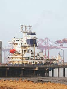Registration issues: A file photograph of vessels at the Mumbai port. (Photograph by  Ashesh Shah/ Mint)