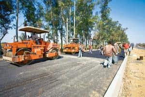 Experimental step: A file photo of  work being carried out on a stretch of NH 58. The new bidding rule will, for now, apply only to projects handled directly by the ministry and not to those administe