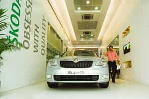 Facing high rentals, Skoda takes route to boutique showrooms