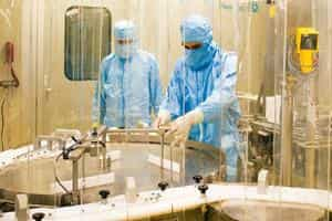Fast track: Panacea Biotec's vaccine formulation plant in Himachal Pradesh. The firm hopes to have animal toxicity results by November.