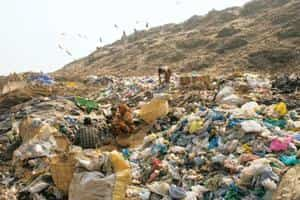 Cleaning up: A garbage dump in Ghazipur. A watchdog agency for municipal utlities would provide much-needed direction to services such as solid waste management, water distribution and sewage.  Madhu