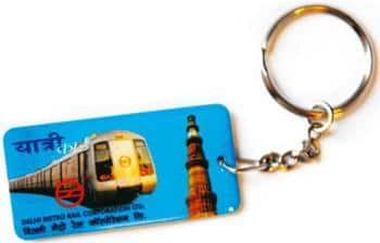 Right key: The new DMRC smart card. Ramesh Pathania / Mint
