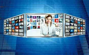 New-age vision: Update your TV with Net integration.