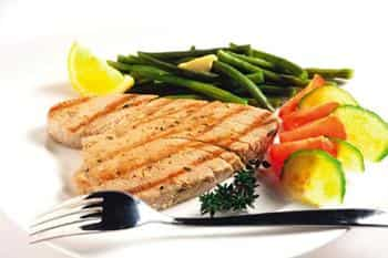 Nutrient-rich: Fatty fish might lower the risk of cardiovascular disease.
