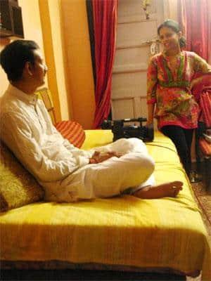 Manvendra Singh Gohil and Nayantara Roy.