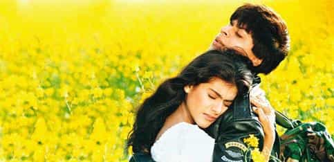 Made for each other: Raj and Simran, the Bollywood poster couple of the 1990s, represented a generation at ease with modernity and tradition.