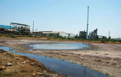 Resource wastage: A file photo of the Ankleshwar Industrial area in Gujarat. Urban industrial water reusage is a crucial factor for India's overall sustainable development. Photo Ramesh Dave/ Mint