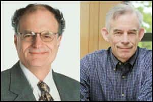 Nobel Laureates: Thomas J. Sargent and Christopher A. Sims. (AFP Photo)