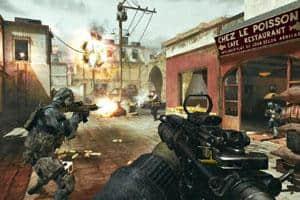 A still from Call of Duty: Modern Warfare 3