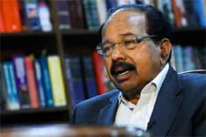 M Veerappa Moily, minister for corporate affairs. Pradeep Gaur/Mint