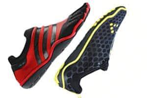eb3e06a3601c ... Free running  The adiPure Trainer (L)  and Evo II. (R