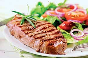 Overcooking can dry meat out and make them tough, stringy, and unappetizing. iStockphoto