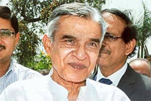 Scraping through: Parliamentary affairs minister Pawan Kumar Bansal. Photo: Manoj Kumar/PTI