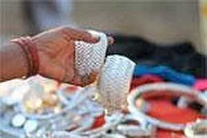 Traditional designs, like this pair of woven silver cuffs, are preferred. Photo: Priyanka Parashar/Mint
