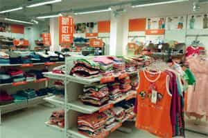 Staying away: A file photo of a Lilliput store in Bangalore. Experts say private equity firms which until a few years ago were queuing up to invest in apparel retailers, are now turning wary of these