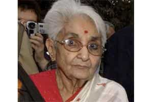 File photo of Captain Lakshmi Sahgal