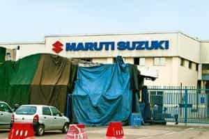 Risk factor: Maruti's shares have dropped nearly 10% since the violence erupted at its Manesar plant. Photo: Ramesh Pathania/Mint