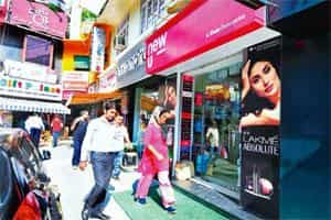 Some benefits: Retail stores provide consumer companies with a new source of revenues for brands and allows them to extend their association with consumers. Photo: Ramesh Pathania/Mint
