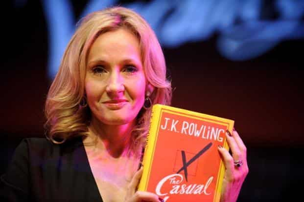 J K Rowling's The Casual Vacancy has the ambiguous virtue of the Harry Potter books, a sure command over the mechanics of plotting. Photo: Ben Pruchnie/Getty Images