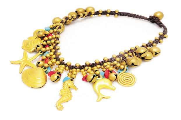 O Layla: Seaworld charm bracelet, at 21, Hauz Khas Village, New Delhi, Rs 900