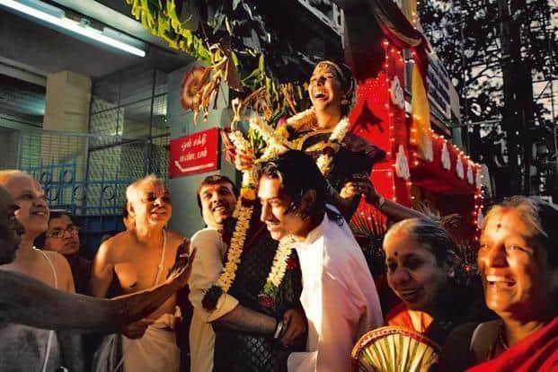 Go to a traditional wedding to hear plenty of Tamil reduplication. Photo: Chitra Aiyer.
