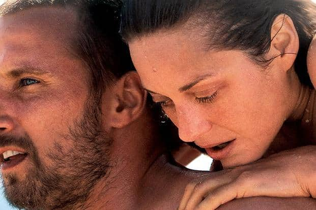 Rust and Bone is a French-Belgian film directed by Jacques Audiard and starring Marion Cotillard and Matthias Schoenaerts. It is based on Craig Davidson's short story collection with the same name.