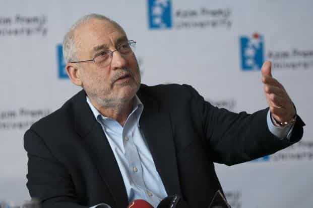 Joseph Stiglitz says the International Monetary Fund had performed several austerity experiments in Thailand, Bolivia, Indonesia and Argentina, and all of them had failed. Photo: Aniruddha Chowdhury/Mint