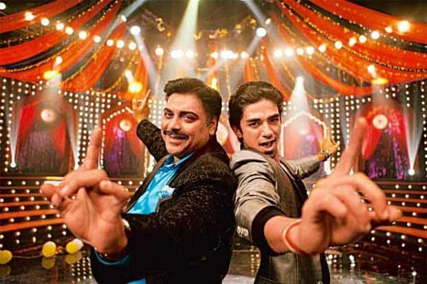 Ram Kapoor (left) and Saqib Saleem in 'Mere Dad Ki Maruti'.