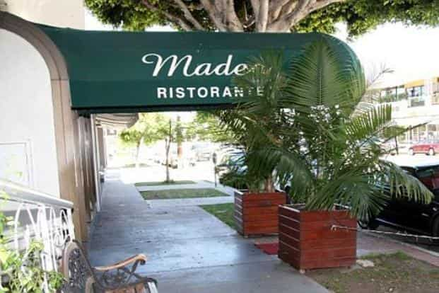 MADEO RESTAURANT: Madeo is my new favourite restaurant in LA. If Dee, my wife, is travelling with me, the first thing we do is head to Madeo for lunch or dinner.