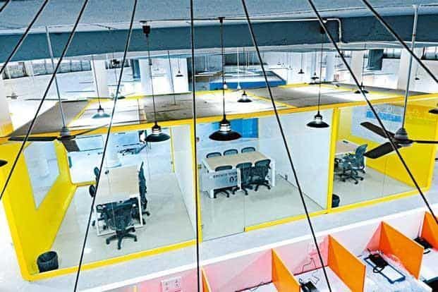 Apart from a space to work out of, 91springboard in Delhi offers services like funding. Photo: Priyanka Parashar/Mint.