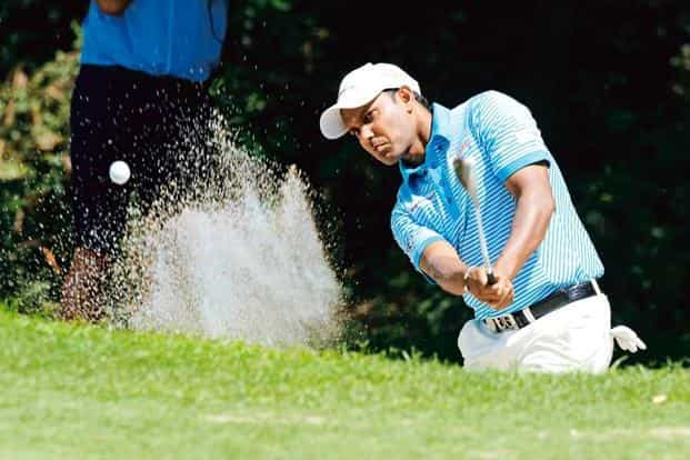 Shiv Shankar Prasad Chowrasia says he got the chance to play in Europe  because of the Asian Tour: Photo: Sajjad Hussain/AFP