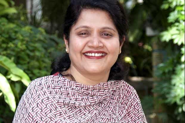 5. Nandita Gurjar, senior vice president-group head of education and research, member,executive council. Total compensation: $579983. Photo: Infosys Website