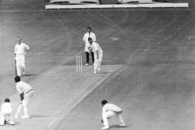 Spinner Bishan Singh Bedi in action, in August 1971. Photo: Dennis Oulds/Central Press/Getty Images