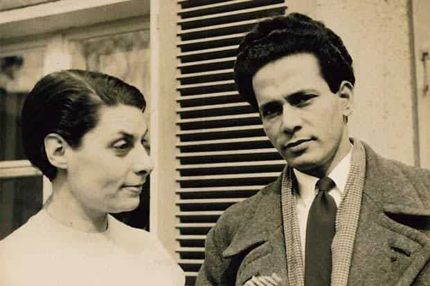 Holocaust survivor and writer Ilse Rewald and Tanvir in East Berlin in the 1950s. Photo courtesy: Penguin Books India