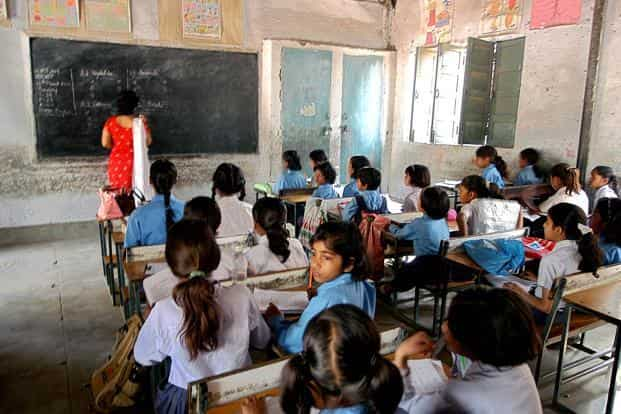 While elementary school enrolment in Delhi has increased to almost 97% today, it is still not known how children are performing in schools. Photo: HT