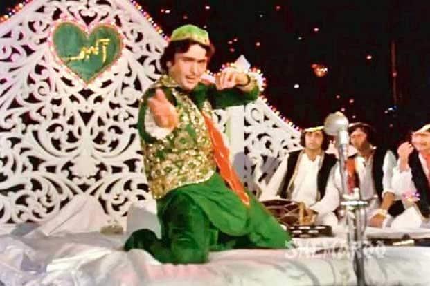 'Purdah hai...' song from 'Amar Akbar Anthony'