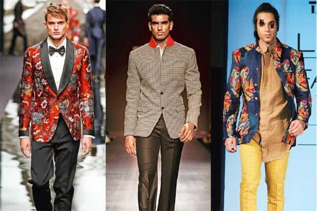 6f1f33cd ... left) Printed jacket from the Louis Vuitton Ready to Wear Fall Winter: