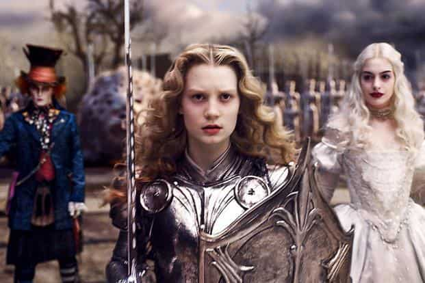 Movie: Alice in Wonderland    Worldwide: $1.024 billion    Released: 2010    Studio: Buena Vista